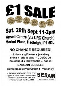 £1 Sale A4 26.9.15 B