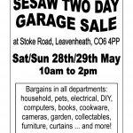 garden sale may 16 A4
