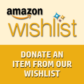 Donate a gift from our Amazon WishList
